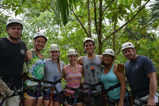 Safari Adventures : Family of Zip-liners