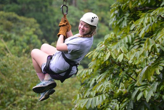 Safari Adventures : Youngest daughter gets the hang of iT