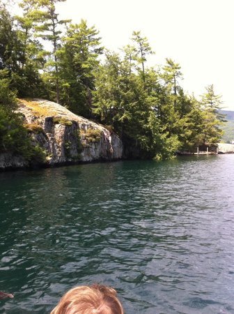 Hague, NY: Hidden coves all around