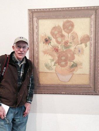 Van-Gogh-Museum: PhotoOp - fake VanGogh