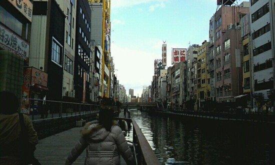 Shinsaibashi: 戎橋からの眺め