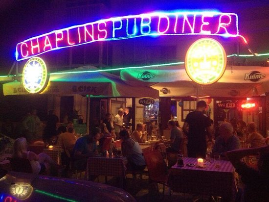 Chaplins by night