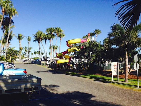 BIG4 Capricorn Palms Holiday Village: Water Slide