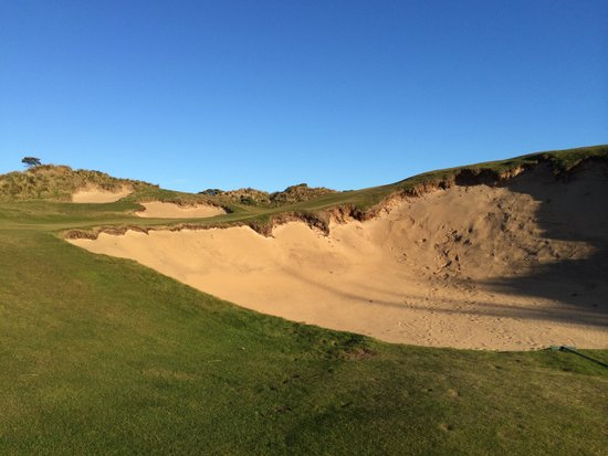 Barnbougle Dunes: Stay out of this bunker...