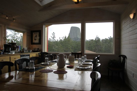 Devils Tower Lodge : Devils Tower as seen from the Dining Room