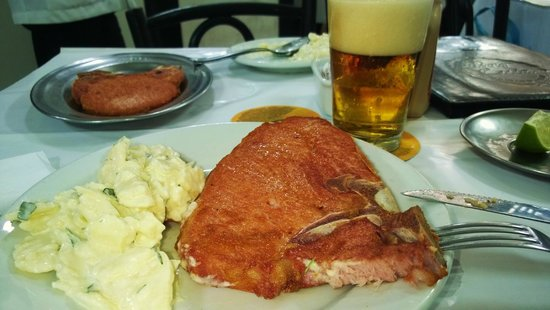 Bar Luiz: A comida...