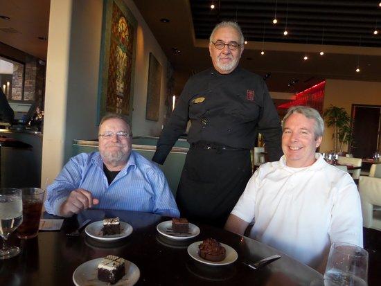 Hilton Santa Fe Buffalo Thunder: Jose, our waiter standing guard