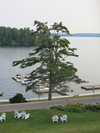 Windermere House Resort & Hotel: A room with a view