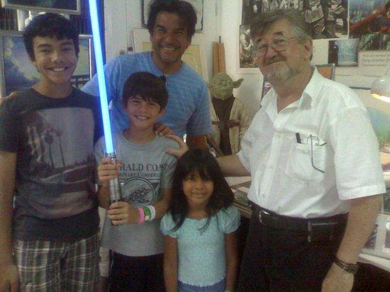 Yoda Guy Movie Exhibit : Light Saber