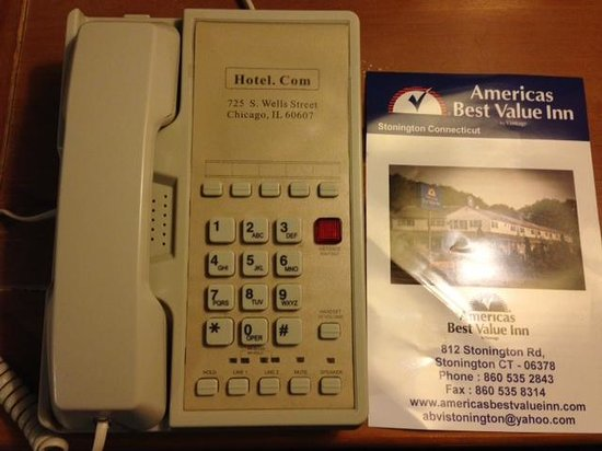 Americas Best Value Inn-Stonington/Mystic: Where the Hell am I?