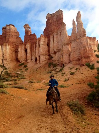 Canyon Trail Rides : On the Peek-A-Boo Loop