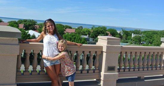 The Villages at Ocean Edge Resort & Golf Club : Love the terrace!