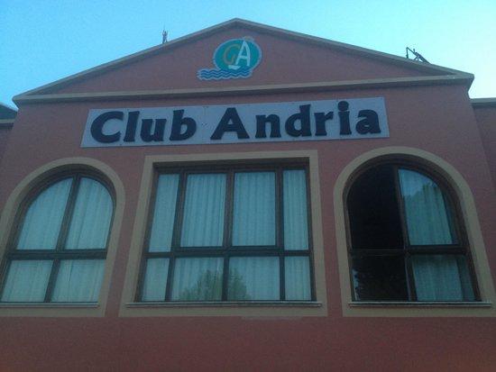 Aparthotel Club Andria: Ingresso