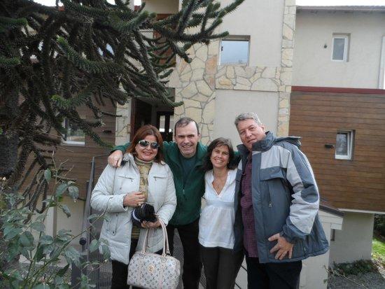 Altuen Hotel Suites&Spa: Sônia, Luis, Paula e Cláudio