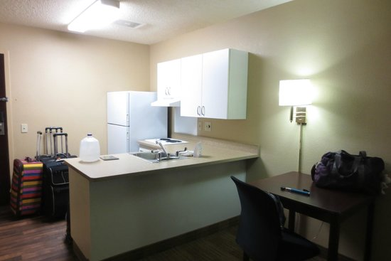 Extended Stay America - Olympia - Tumwater: kitchenette