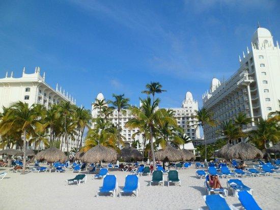 Hotel Riu Palace Aruba: Playa