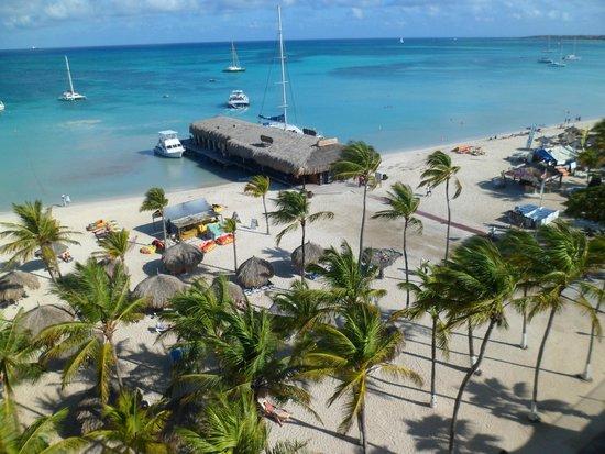Hotel Riu Palace Aruba: Vista desde la habitacion!