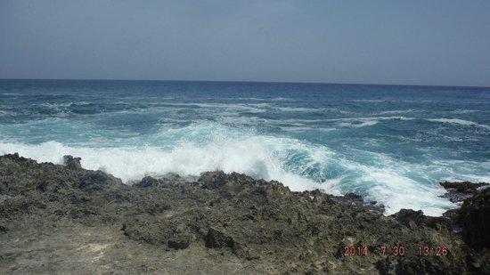 Hoyo Soplador: el mar frente al hoyo