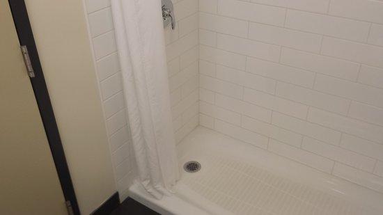 BEST WESTERN Thompson Hotel & Suites: nice shower