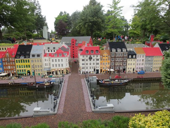 Legoland Billund: replica city