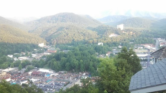 Gatlinburg Sky Lift: View from the top of the Sky Lift