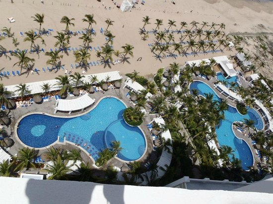 Hotel Riu Emerald Bay: Pools, view from room