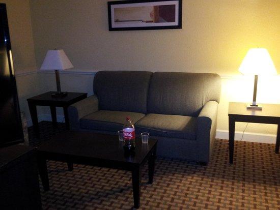 La Quinta Inn & Suites Atlanta Airport South: Sitting area in room