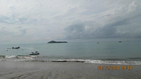Royal Decameron Golf, Beach Resort & Villas : Vista del mar desde la playa