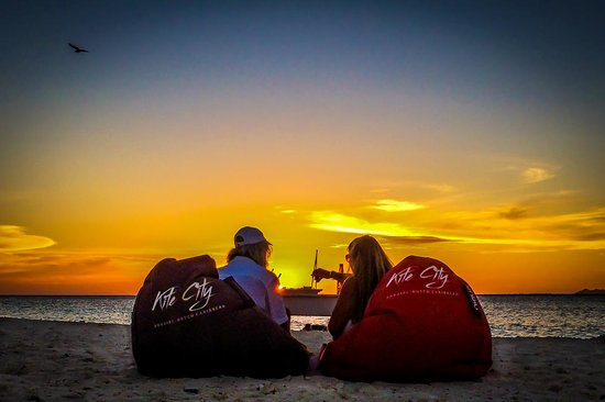 Kite City: The Perfect sunset