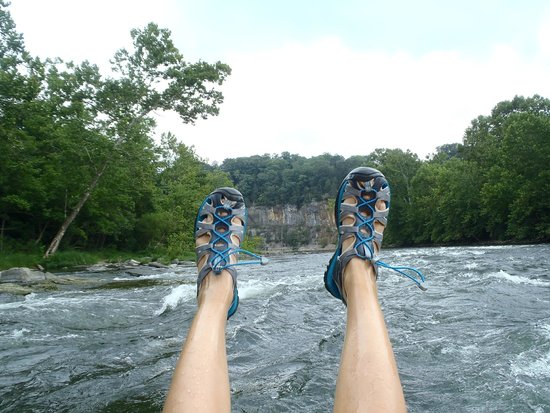 Shenandoah River Outfitters, Inc.: rapids while tubing