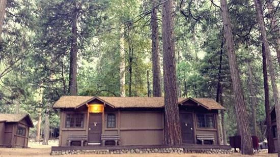 Half Dome Village: wooden cabin 20a