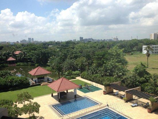 Radisson Blu Dhaka Water Garden : Room View