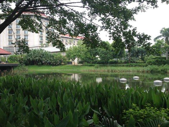 Radisson Blu Dhaka Water Garden : Lake View