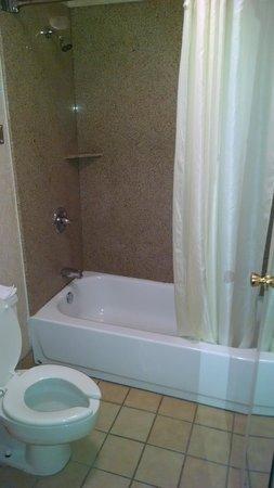 Americas Best Value Inn - Oklahoma City / I-35 North : Bathroom, Room 101