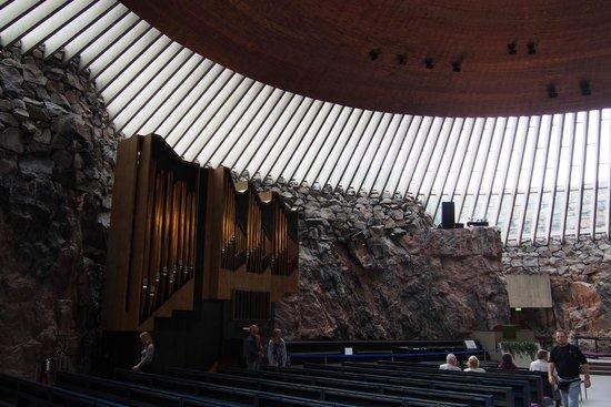 Iglesia de Piedra: inside of the church