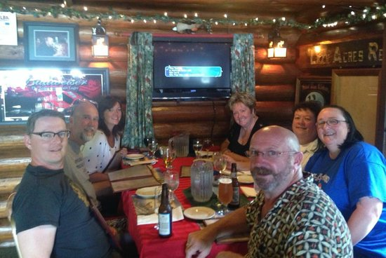 The Camel Rider's: Excellent family dinner!