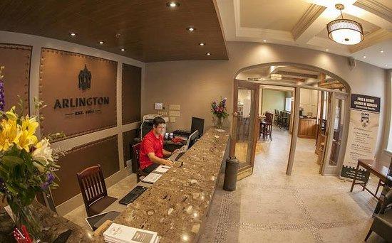 Arlington Hotel: Lobby