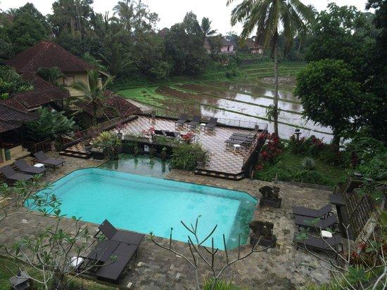 Cempaka Belimbing Villas: Vue du restaurant