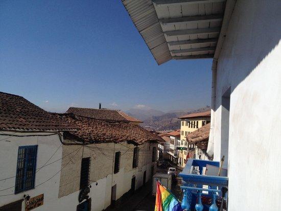 The Point Hostels - Cusco: Balcon del bar