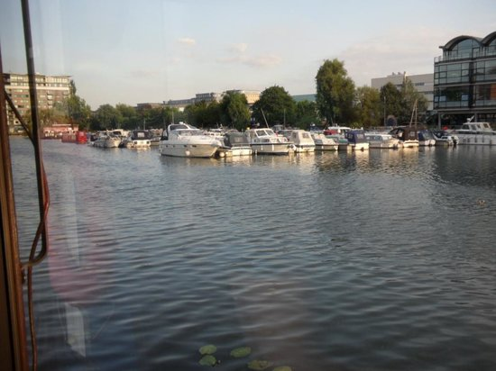 The Barge on the Brayford: A view across the water.