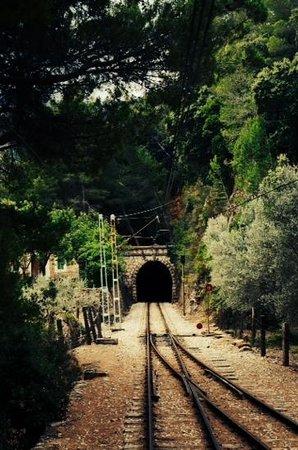 Straßenbahn Sóller: un des nombreux tunnels