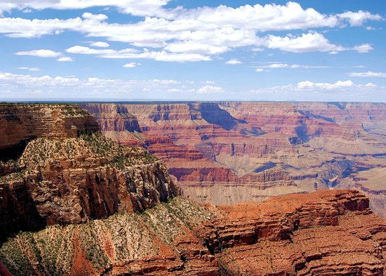 Grand Canyon Railway: one of the bus viewpoints