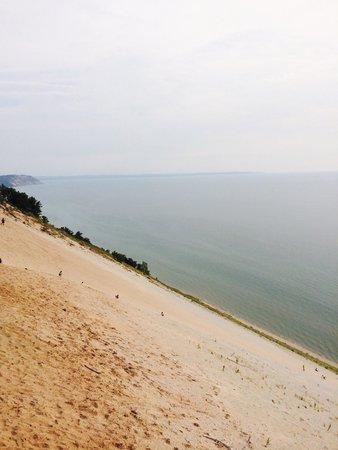 Pierce Stocking Scenic Drive: A beautiful steep dune