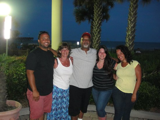 Holiday Inn at the Pavilion: The fam