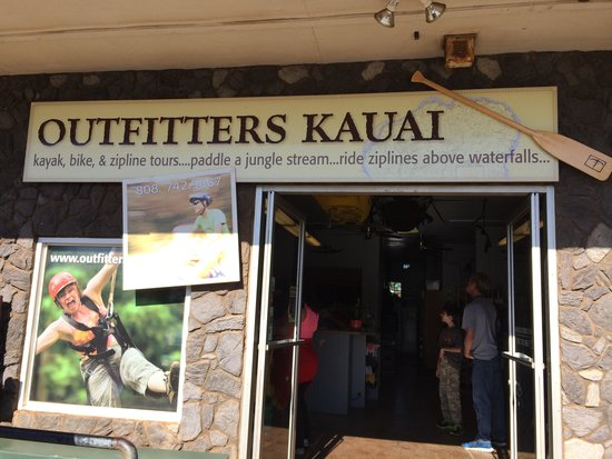 Outfitters Kauai: Base camp to adventure