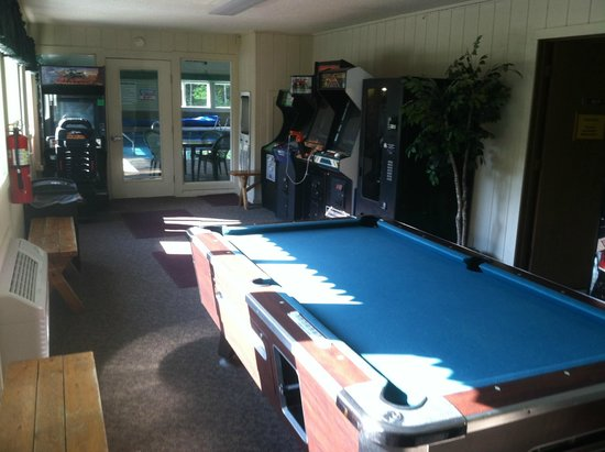 Parkwood Lodge: Game Room