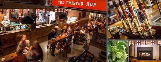 The Twisted Hop Pub: .