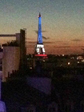 Novotel Paris Centre Gare Montparnasse : Bastille Day 2014