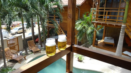 The Beach Bungalows Bed & Breakfast: Welcome beverage when you check in!