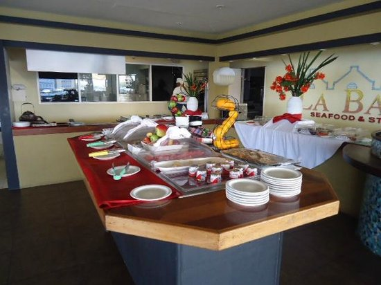 Otrobanda Hotel and Casino: Area de desayuno